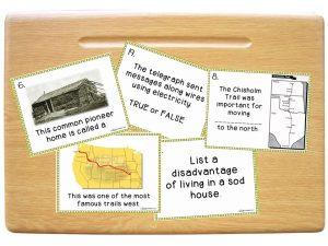 Westward Expansion Task Cards