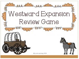 Westward Expansion Game